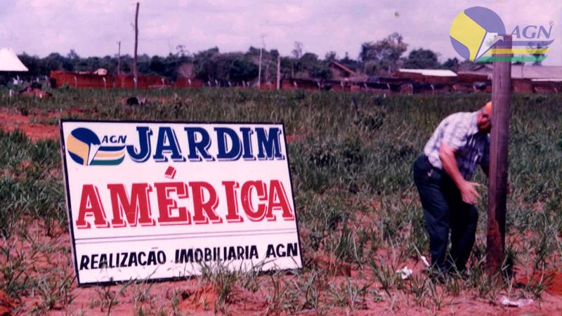 Placa Jardim América