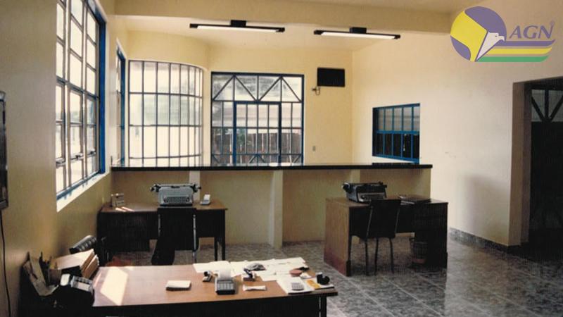 Interior da sede antiga